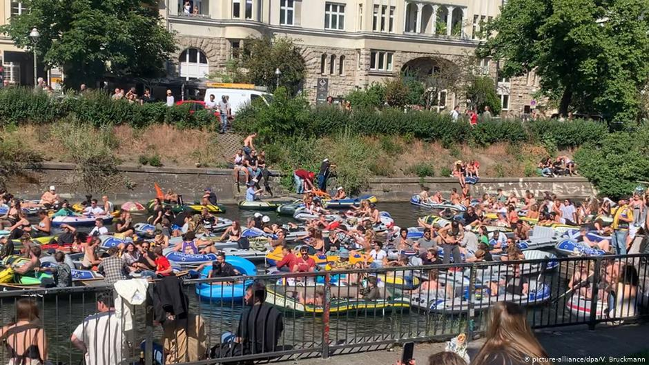 German Police Shut Down Floating Techno Party Protest
