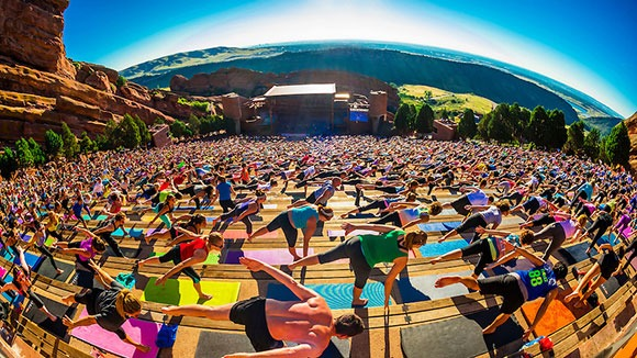 Red Rocks Amphitheatre Opens For Yoga Series