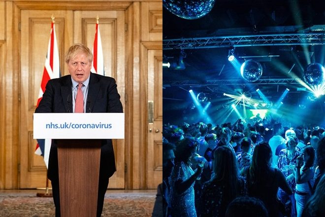 UK PM Boris Johnson Discusses Reopening of Clubs