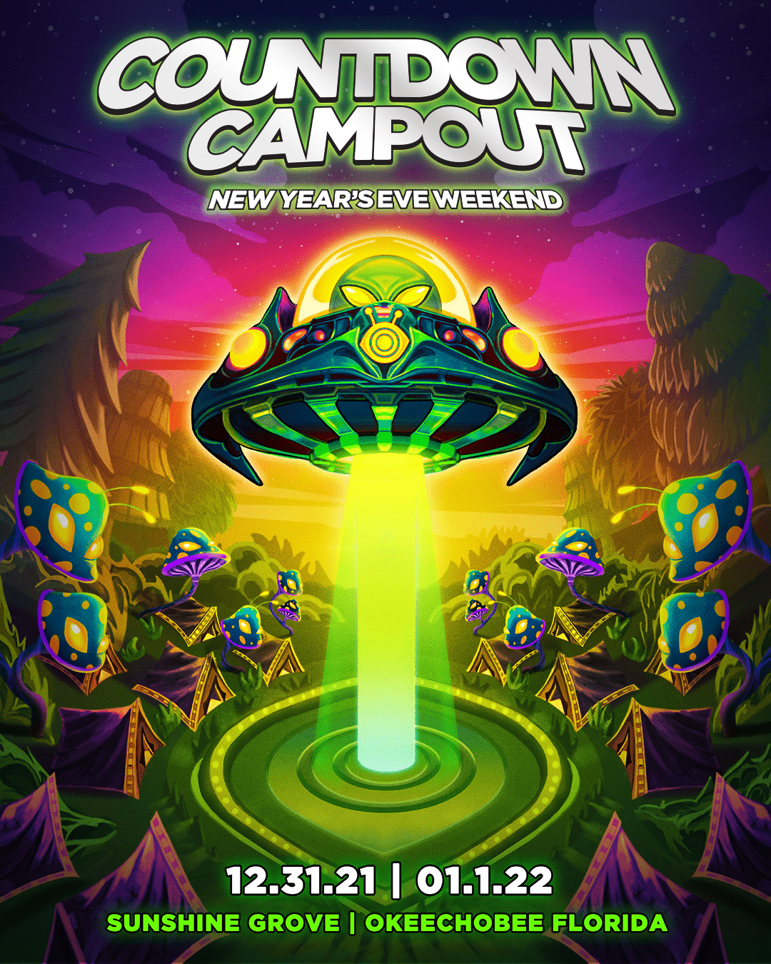 Insomniac Goes Big For Countdown Campout NYE Event in Florida