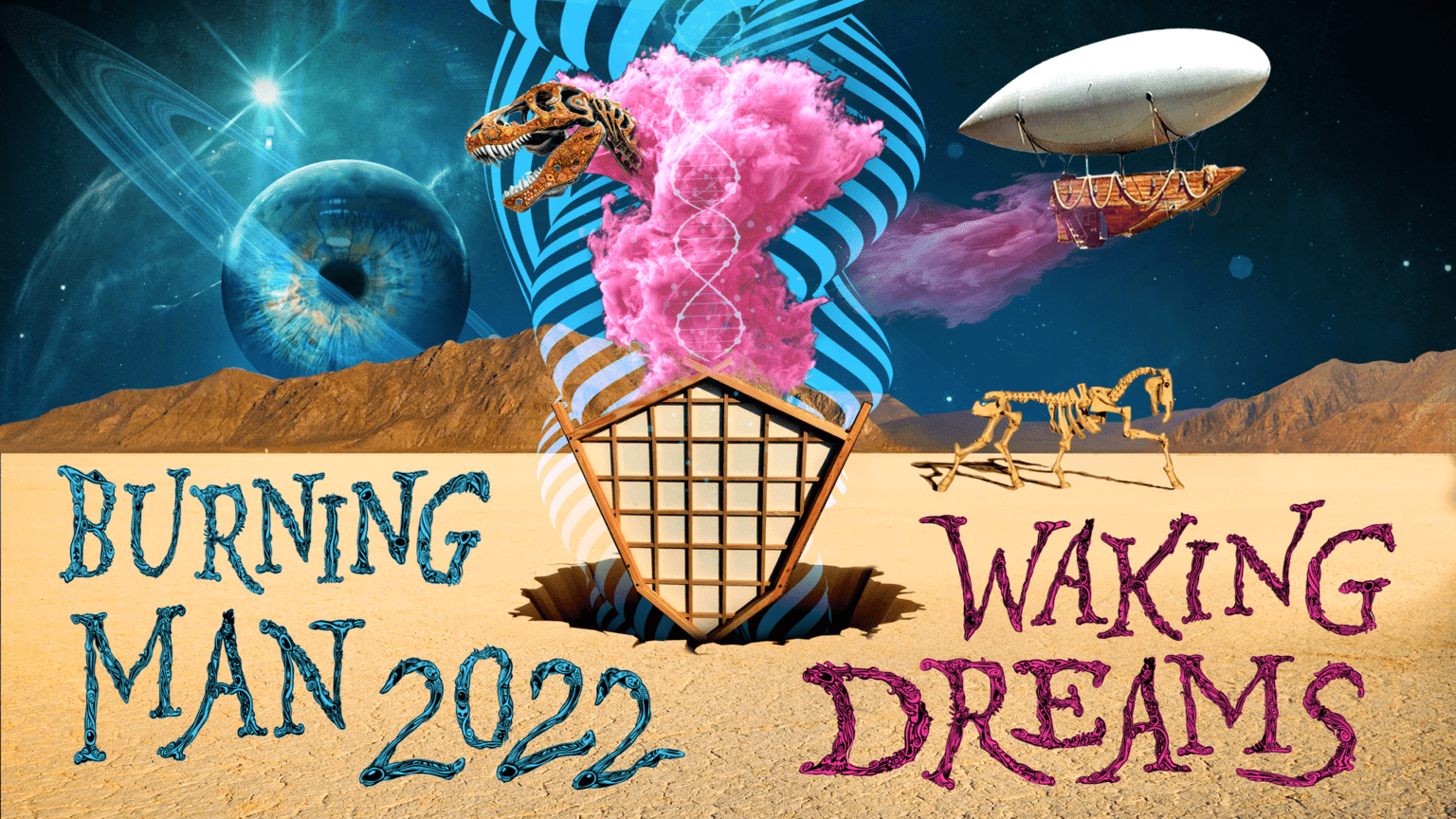 Burning Man Returns With 2022 Theme: Waking Dreams