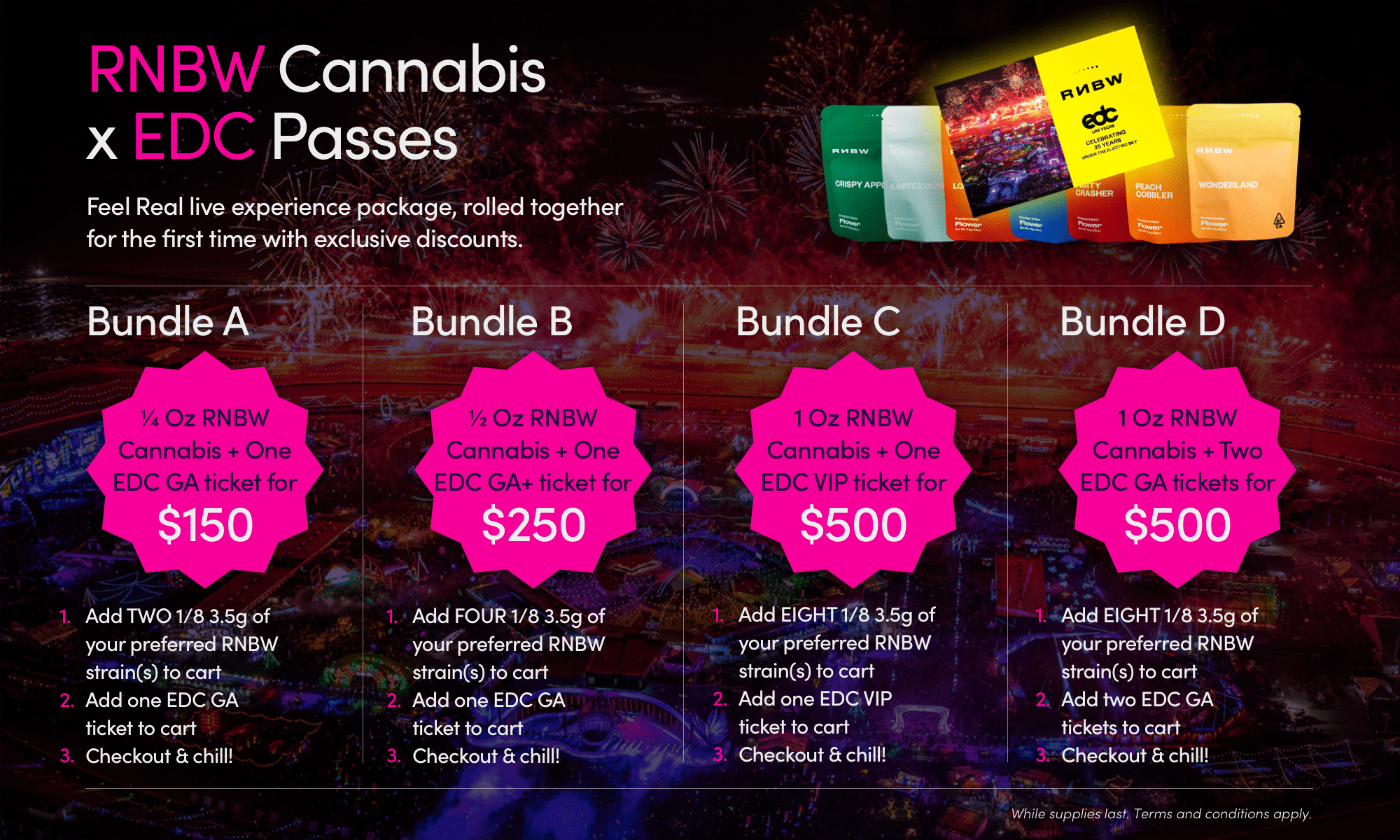 """Insomniac Jumps Into Cannabis Business, Announces Official """"Flower"""" of EDC"""